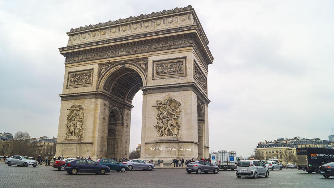 法国意大利8日自由行之法国巴黎篇