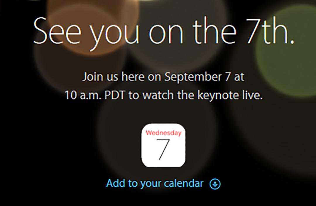 2016年9月苹果发布会